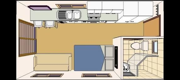 Image result for one car garage conversion floor plans Garage conversion floor plans