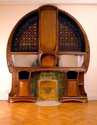Ecole De Nancy Maison D Artiste Interieur Art Nouveau Design Art Nouveau Meubles Art Nouveau