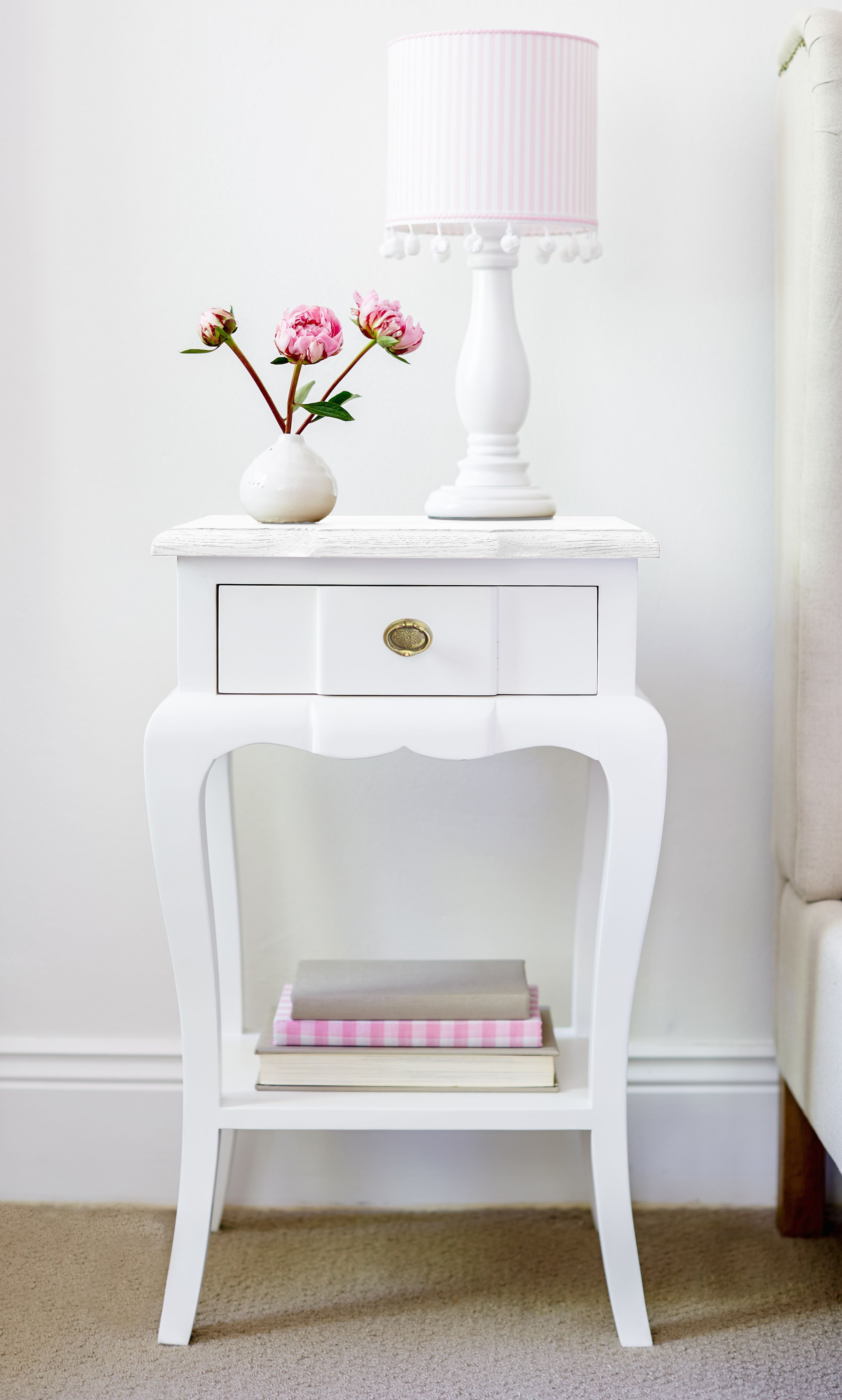 Bedside Table Small French Style from www