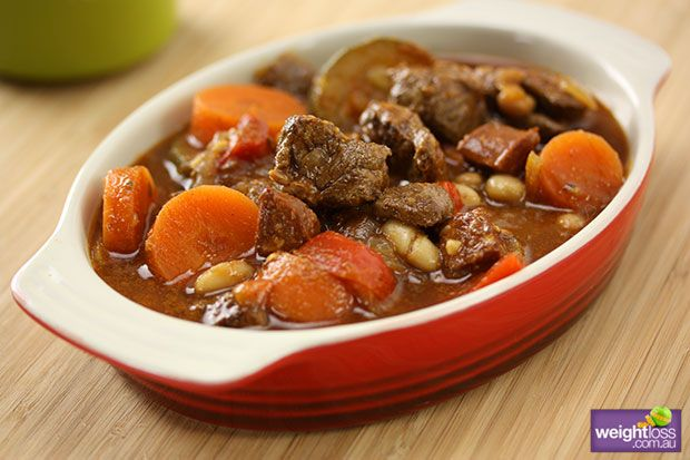Slow Cooker Spanish Lamb With Beans Recipes Pinterest Slow
