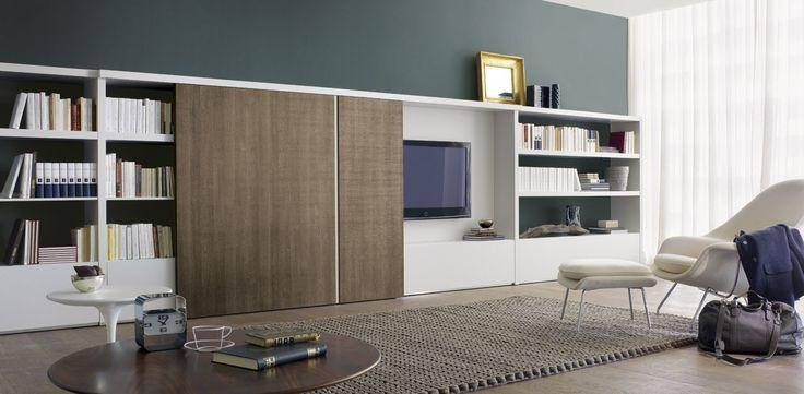 Afbeeldingsresultaat voor kast woonkamer modern | Uitbouw ...