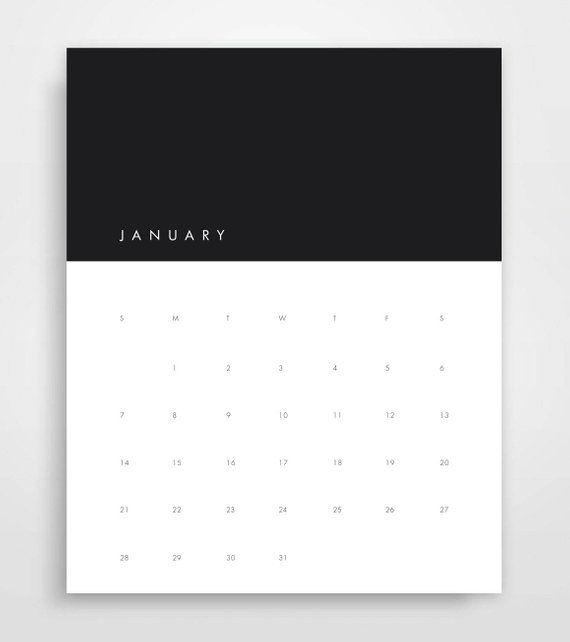 Printable Vertical Calendar 2018 Printable Calendar Monthly