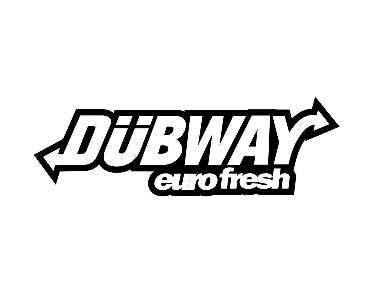 Dubway Sticker Unique Sticker Jdm Stickers Stickers [ 939 x 1200 Pixel ]