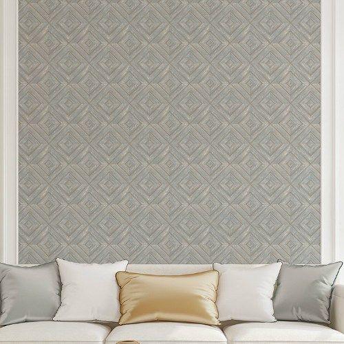 Wood Tile Wallpaper Modern Farmhouse Tile Wallpaper