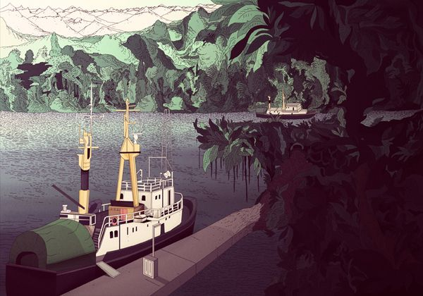 Stockholm The Hidden by Kilian Eng, via Behance
