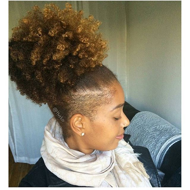 Hvirluv Undercut Natural Hair Shaved Side Hairstyles Tapered Natural Hair