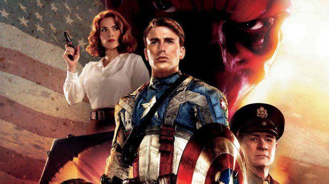 Capitan America El Primer Vengador 2011 Avengers Movies Captain America Best Superhero Movies