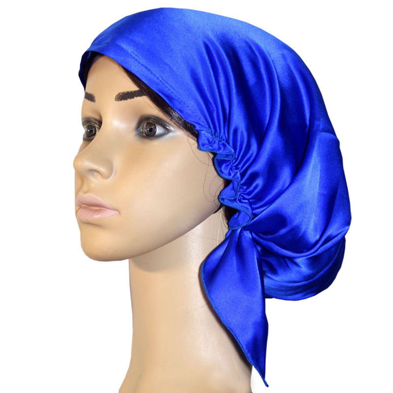 Women Silky Satin Sleeping Hair Wrap/ head cover/ scarf