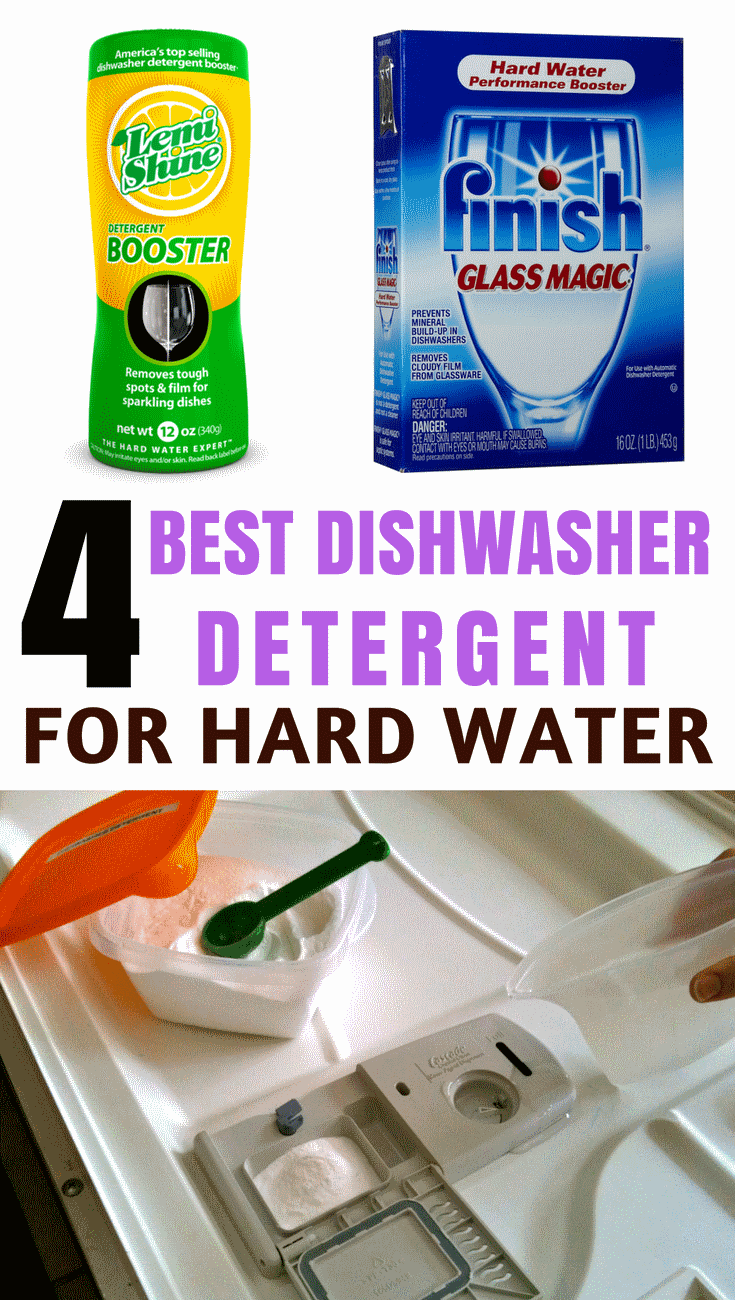Best Dishwasher Detergent For Hard Water Reviews Top Products