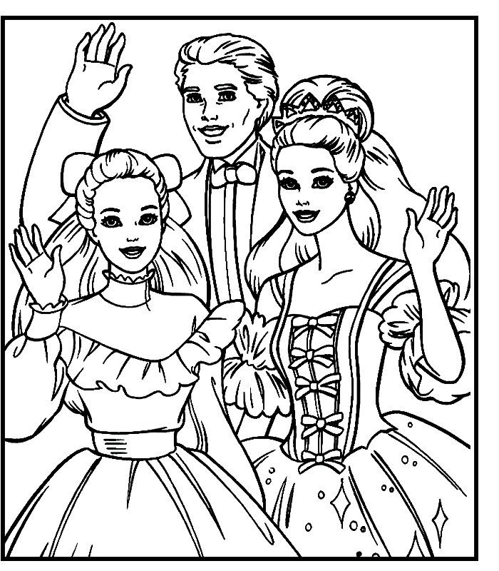 Barbie (16).jpg (700×800) | COLORING PAGES :) | Pinterest ...