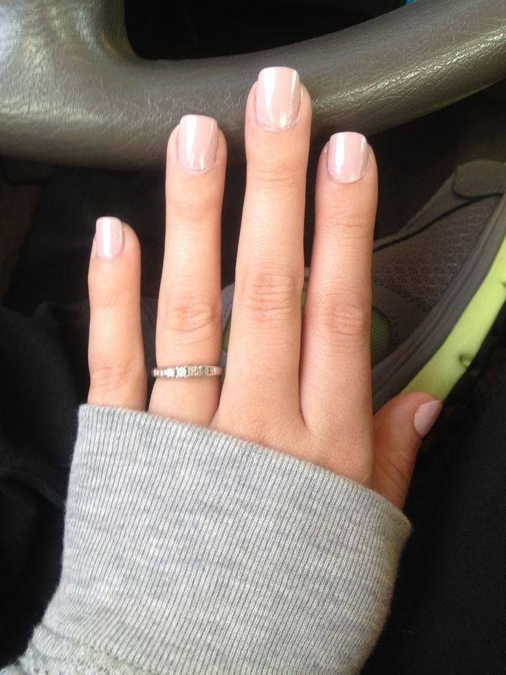 The 25 Best Natural Looking Acrylic Nails Ideas On Pinterest Neutral Nails Simple Wedding