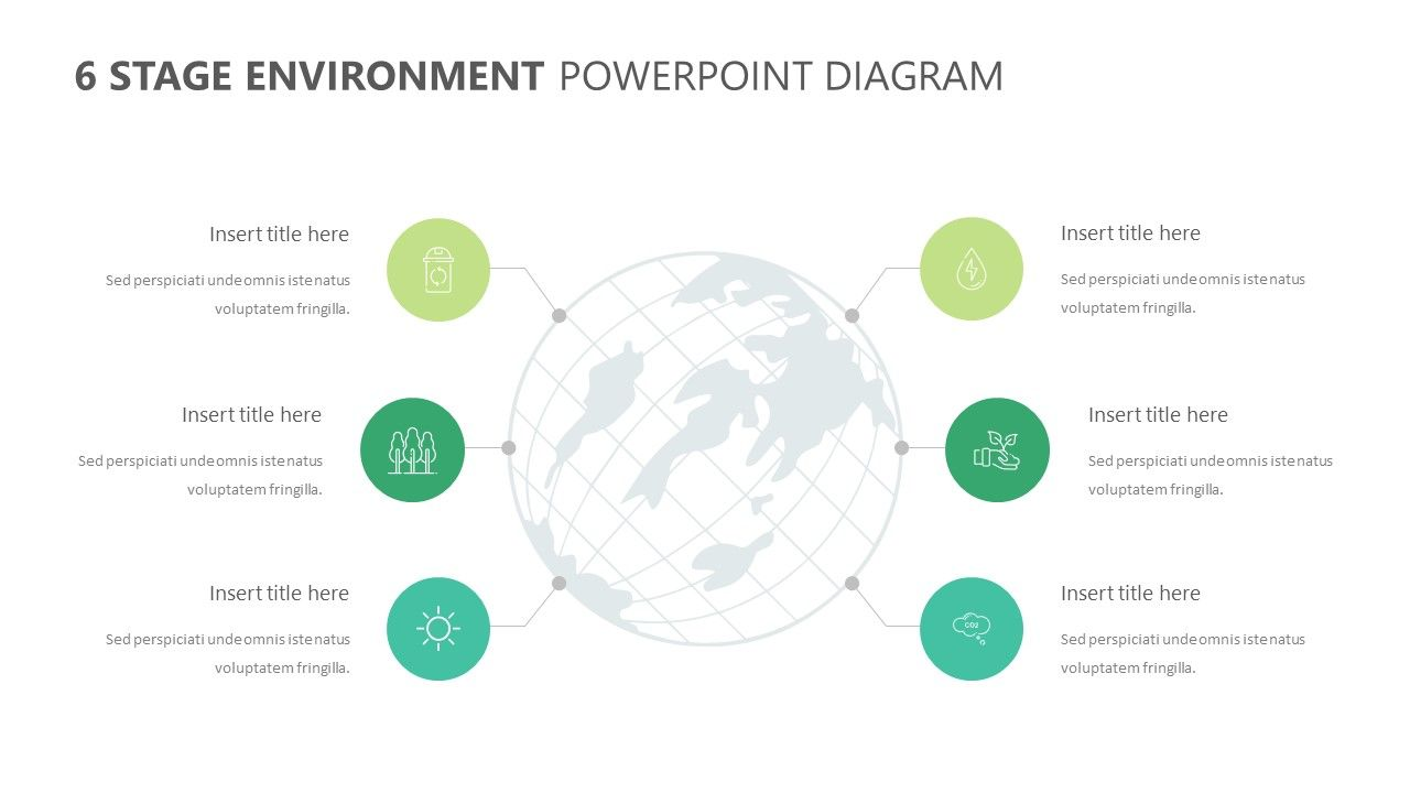 6 Stage Environment Powerpoint Diagram Diagram Powerpoint
