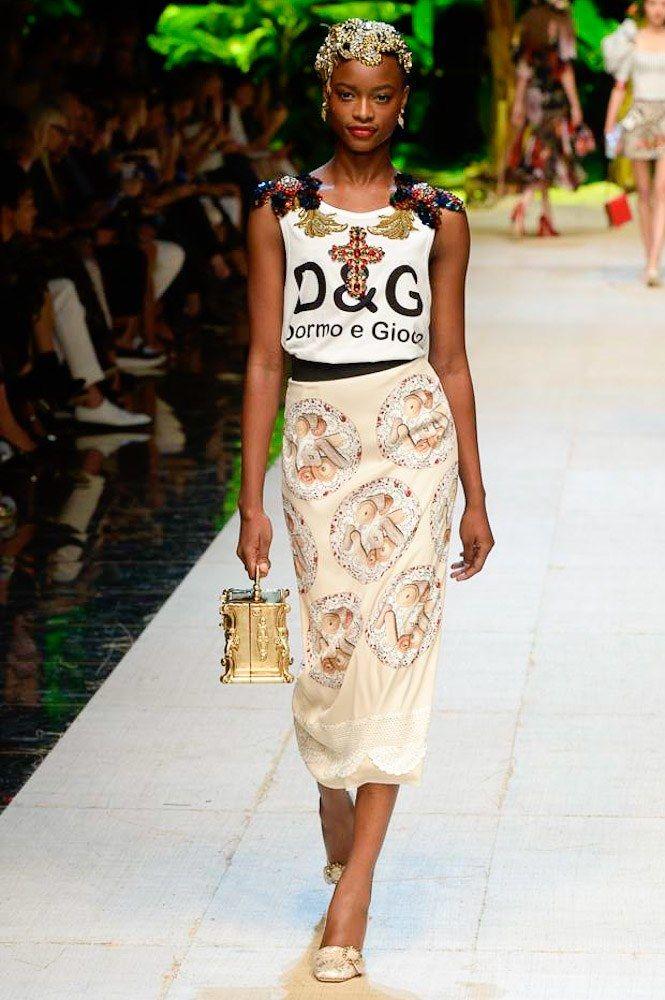 Dolce & Gabbana printemps-été 2017 - LE BAZAR DES TENDANCES