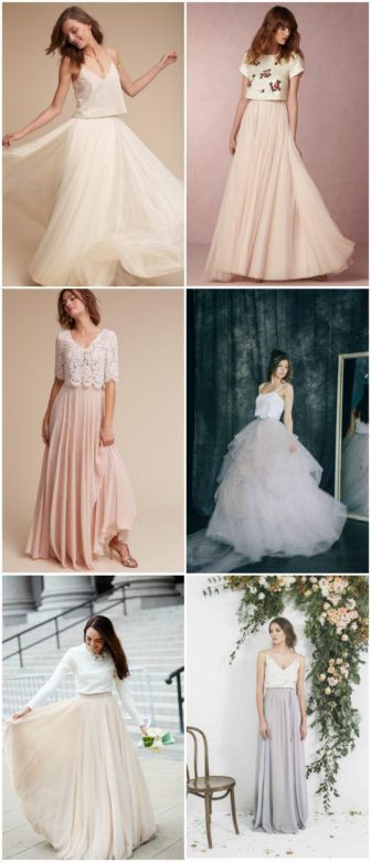 10 Of The Best Wedding Dress Skirts Tops Rustic Wedding Chic Rustic Wedding Gowns Wedding Dresses Rustic Wedding Dresses
