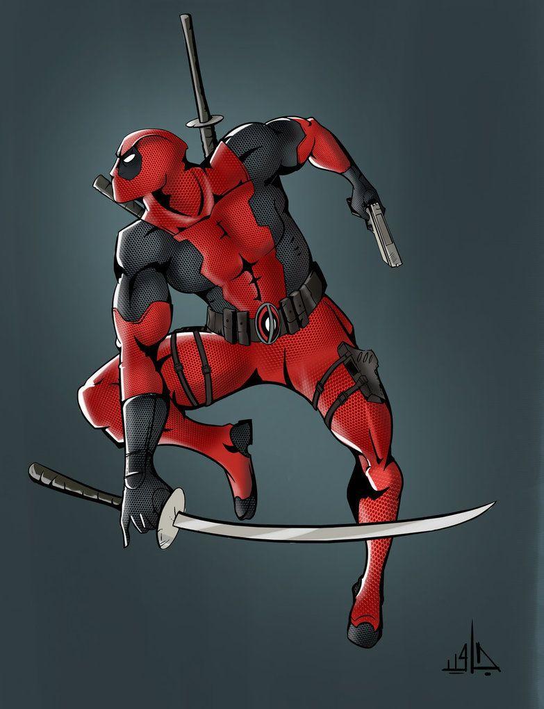 #Deadpool #Fan #Art. (Deadpool) By:Ali-Javid. (THE * 5 * STÅR * ÅWARD * OF: * AW YEAH, IT'S MAJOR ÅWESOMENESS!!!™)[THANK U 4 PINNING!!!<·><]<©>ÅÅÅ+(OB4E)