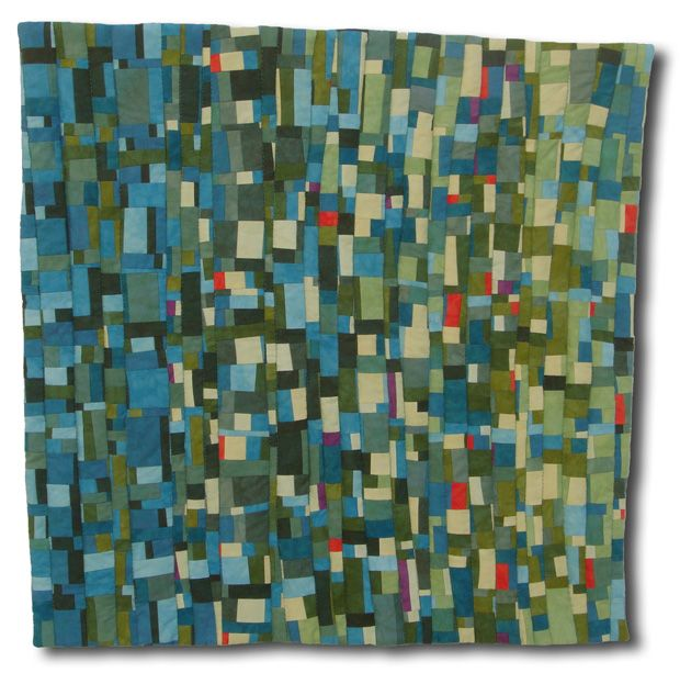 Modern art quilts anne r parker contemporary art quilter for Modern house quilts