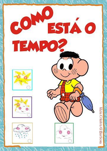 Cartaz Para Imprimir Turma Da Monica Colorido Rotina Colorir Como