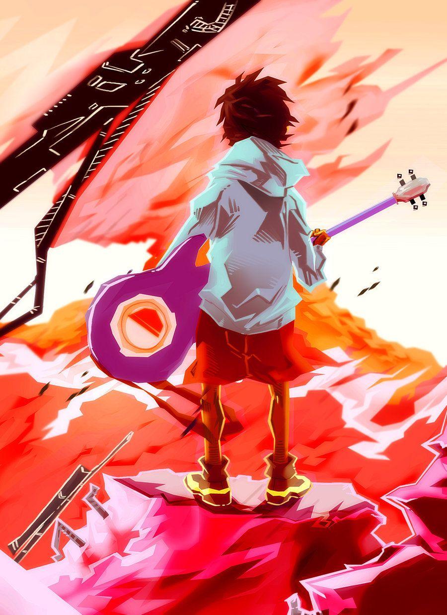 Stare by ThaLDAWB Flcl, Anime, Art