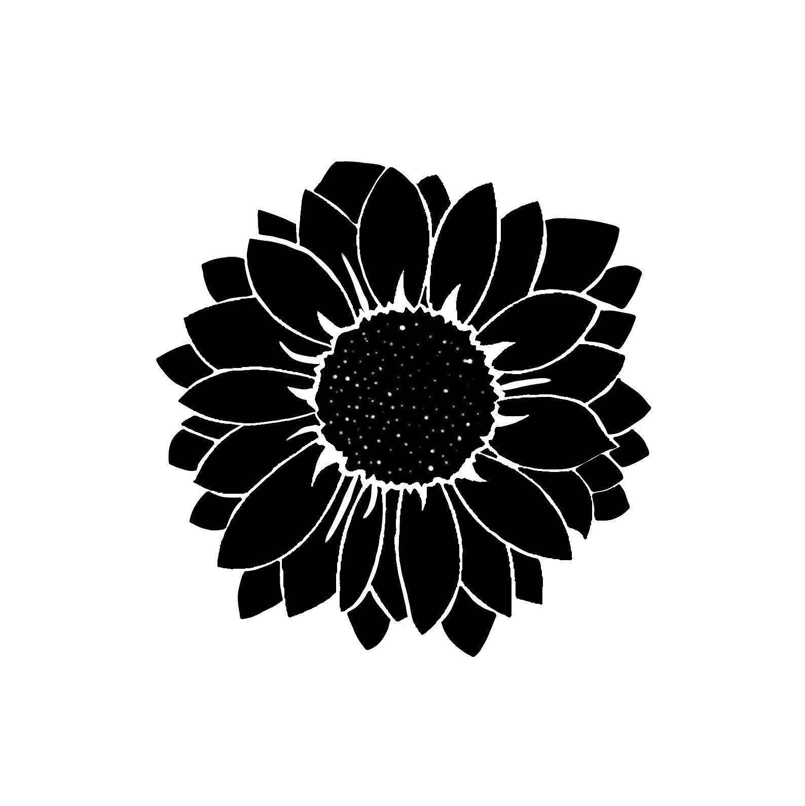 Sunflower Decal Decal Vinyl Sticker Sun Flower Decal By Creativartshop On Etsy Vinyl Sticker Vinyl Decals [ 1590 x 1588 Pixel ]