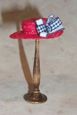 The Creative Doll: Straw Boater Tutorial