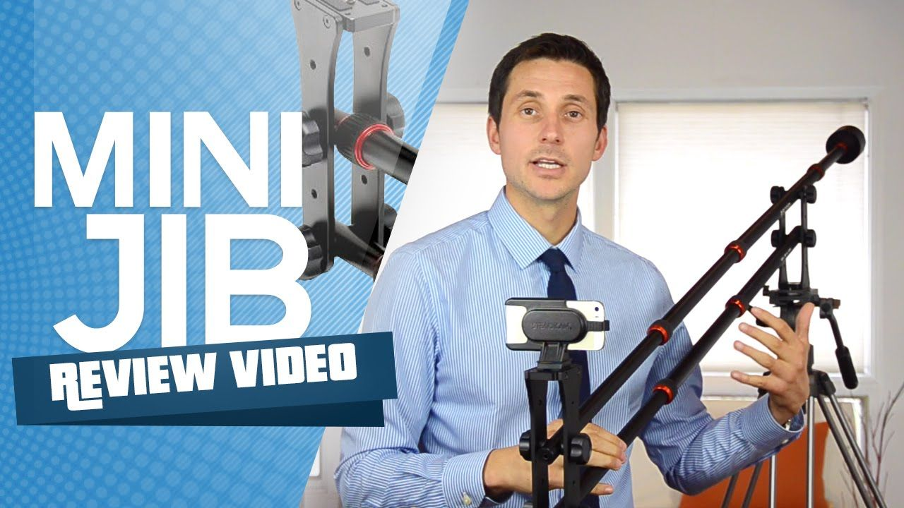 Mini Jib MJ906 - Great Video Production Tool - Spice Up Your Ad with more Professionalism