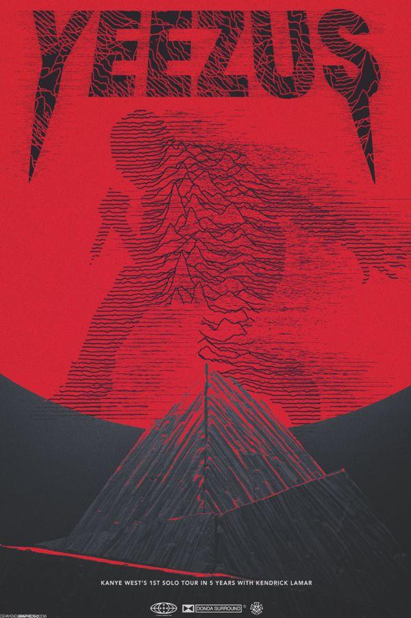 Yeezus Tour Poster On Behance Yeezus Tour Yeezus Wallpaper Kanye West Wallpaper