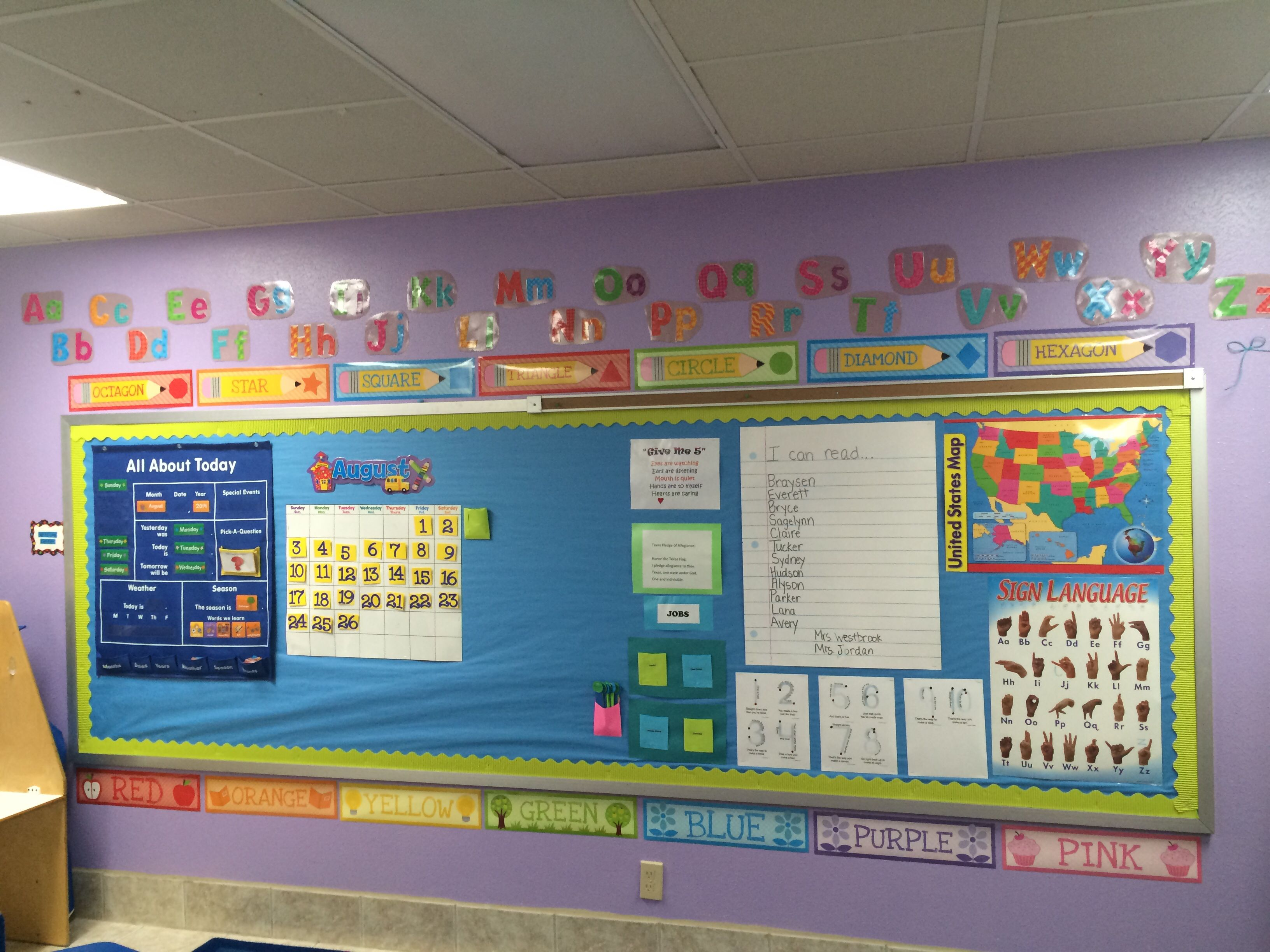 Pre Nursery Classroom Decoration : Circle time bulletin board pre k classroom ideas