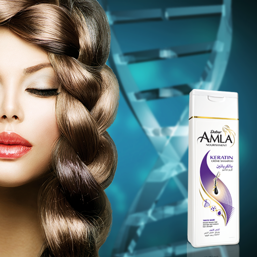 Keratin Is The Building Block Of Hair It Thickens The Hair Strands And Adds Volume To The Hair Try New Dabur Amla Keratin Keratin Shampoo Hair Beauty Beauty