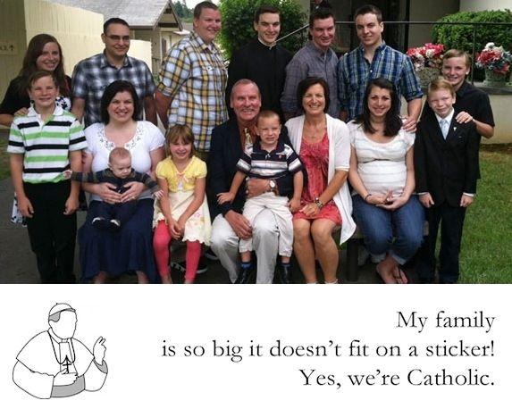 Big Families | 38 Things Catholic Girls Love