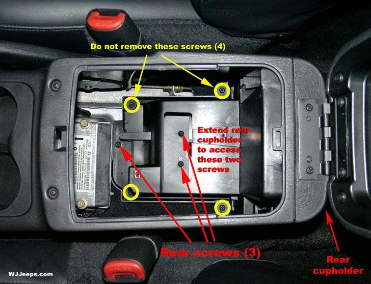 Wj Floor Console Removal Jeep Grand Cherokee Jeep Grand Cherokee Laredo Jeep Grand