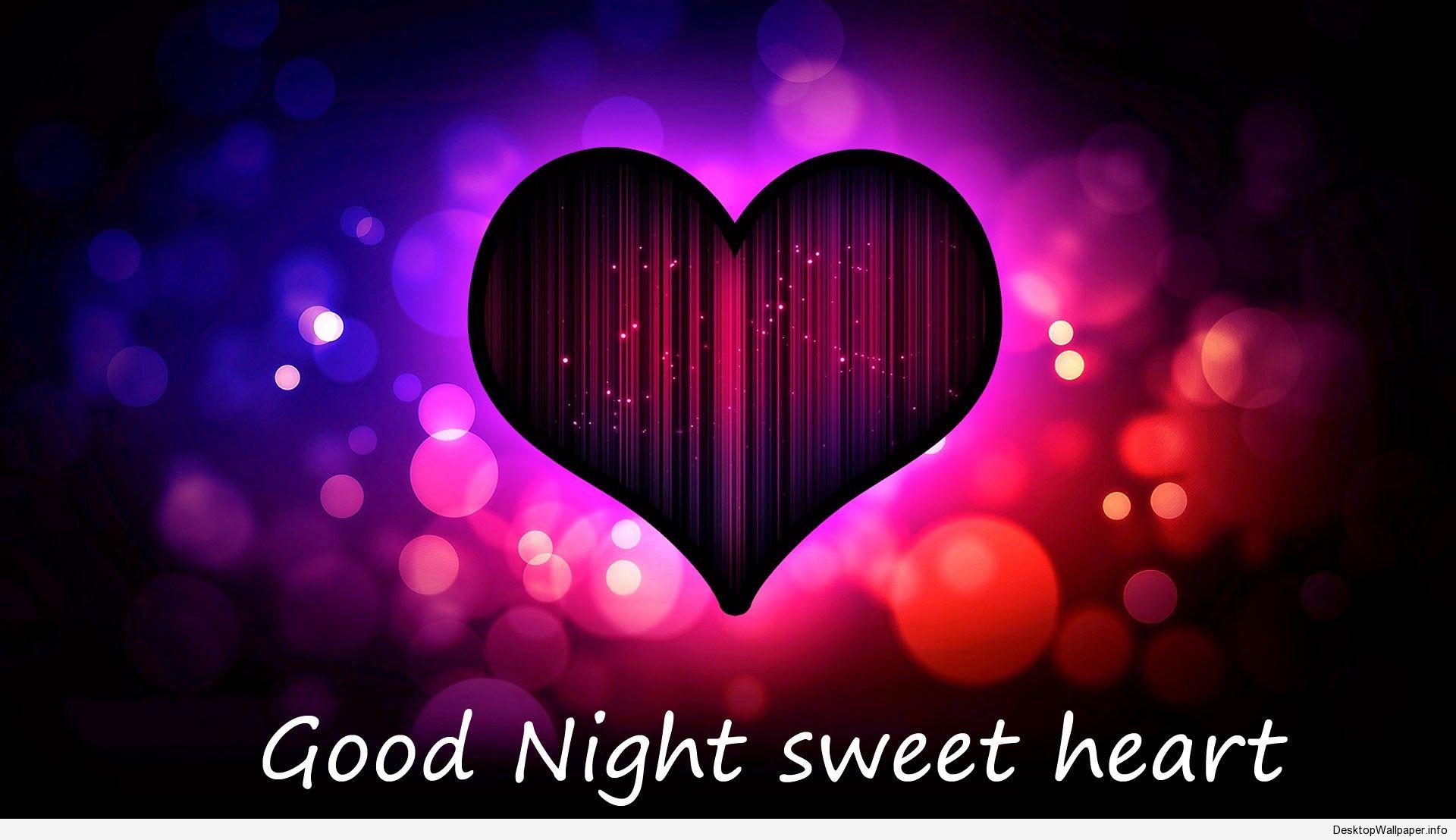 good night wallpaper love - http://desktopwallpaper/good-night