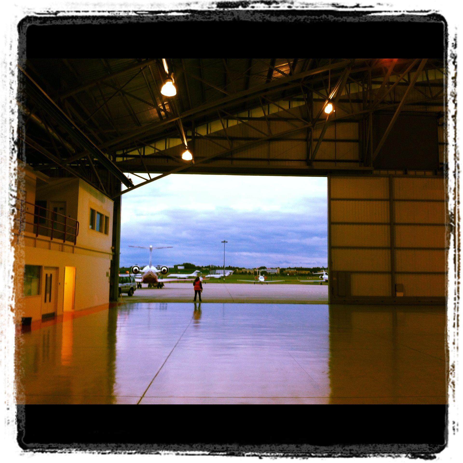 Farnborough Airport, London Ready to take off
