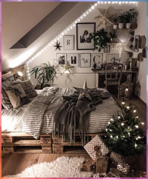Top 37 Christmas Bedroom Decorations Ideas 2020 – newyearlights. com