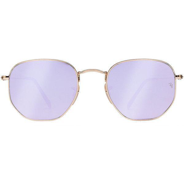 efbfb1e652735 Ray-Ban Modern Metal Aviator Sunglasses ( 150) ❤ liked on Polyvore ...