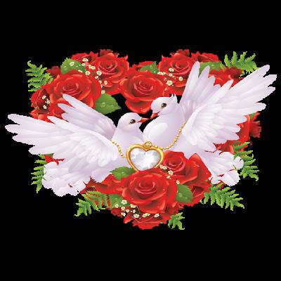 Wedding Flowers Clip Art | White Doves Wedding Clip Art Images ...