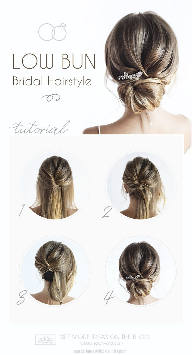 Classic Low Bun Wedding Hairstyles To Inspire Your Big Day Simple Prom Hair Prom Hair Medium Bridesmaid Hair Updo