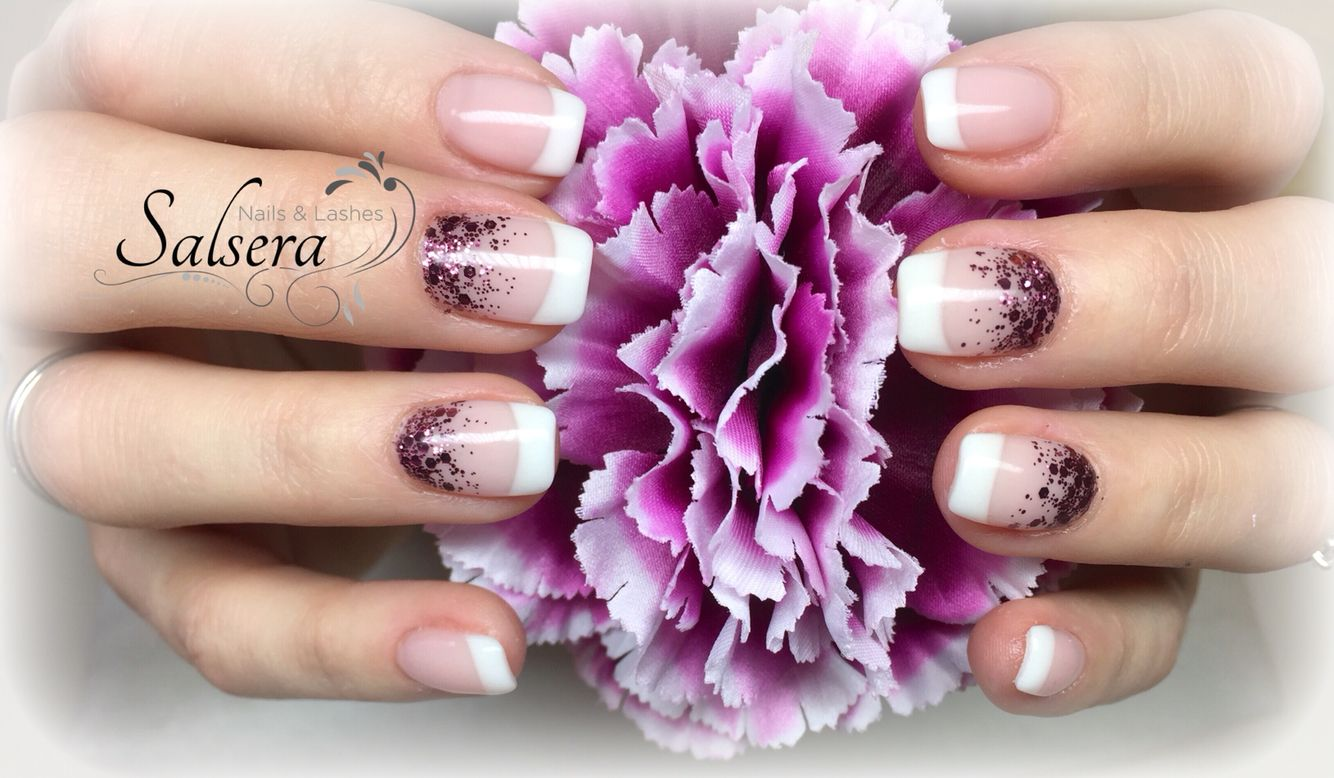 Nails, Nägel, Nageldesign, Frenchstyle, French classic, French ...