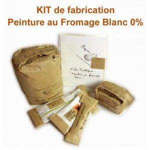 Kit Découverte Peinture Au Fromage Blanc 0%