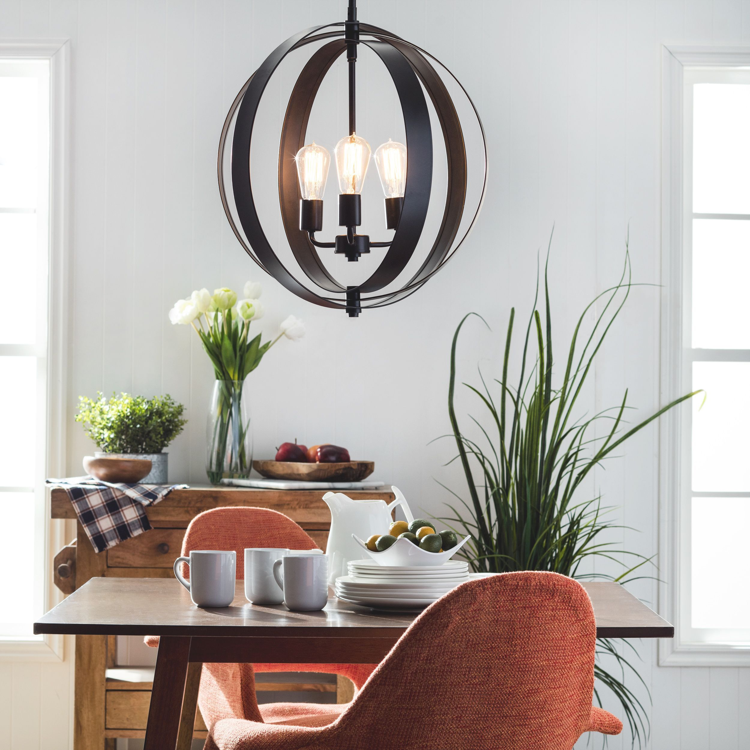 Contemporary Dining Room Chandeliers: A Trendy Combination Of Contemporary Design With Retro