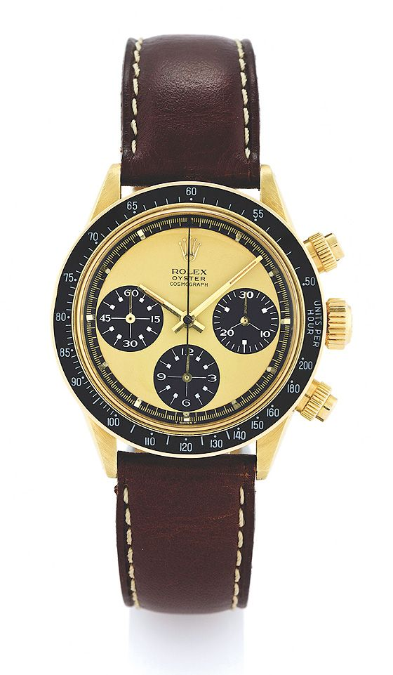 Antiquorum S May Auction World Records For Two Rolex Daytona Paul