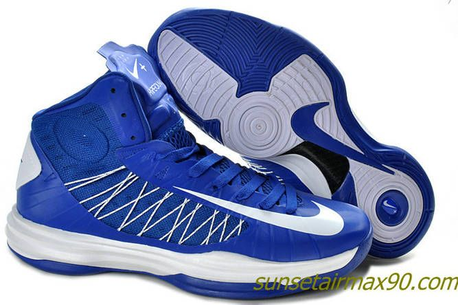 Blue � Nike Lunar Hyperdunk 2012 Review Olympic Old Royal Blue White ...