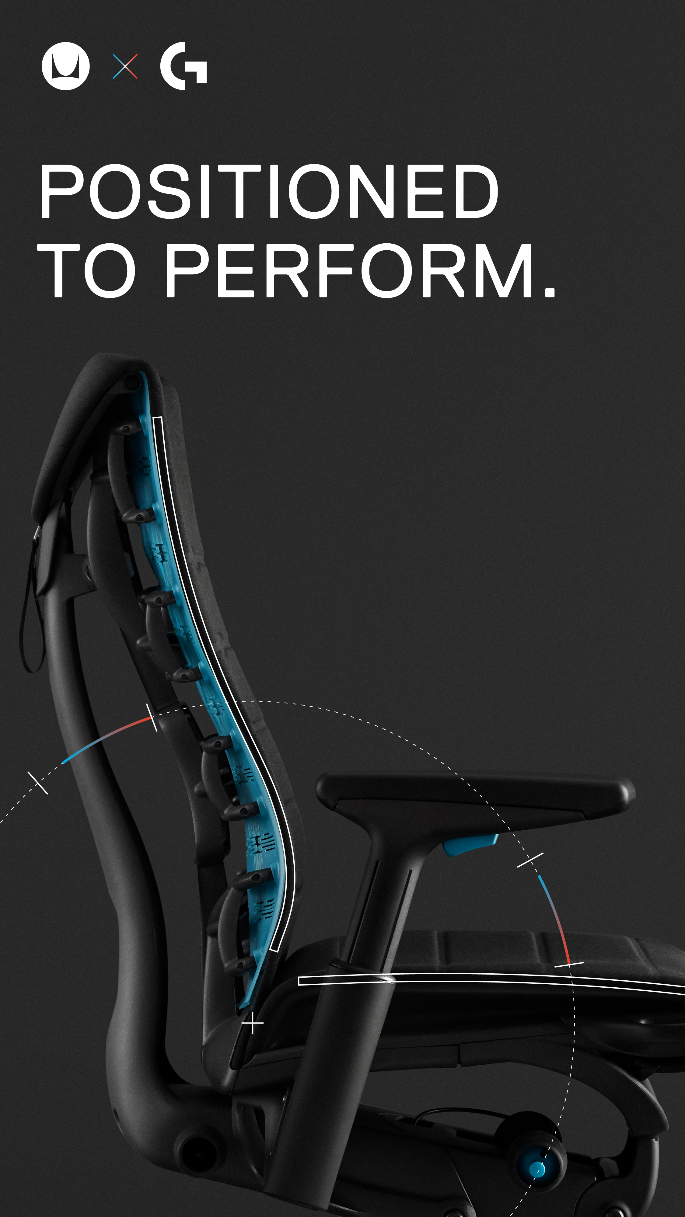 The Embody Gaming Chair by Herman Miller X Logitech G in