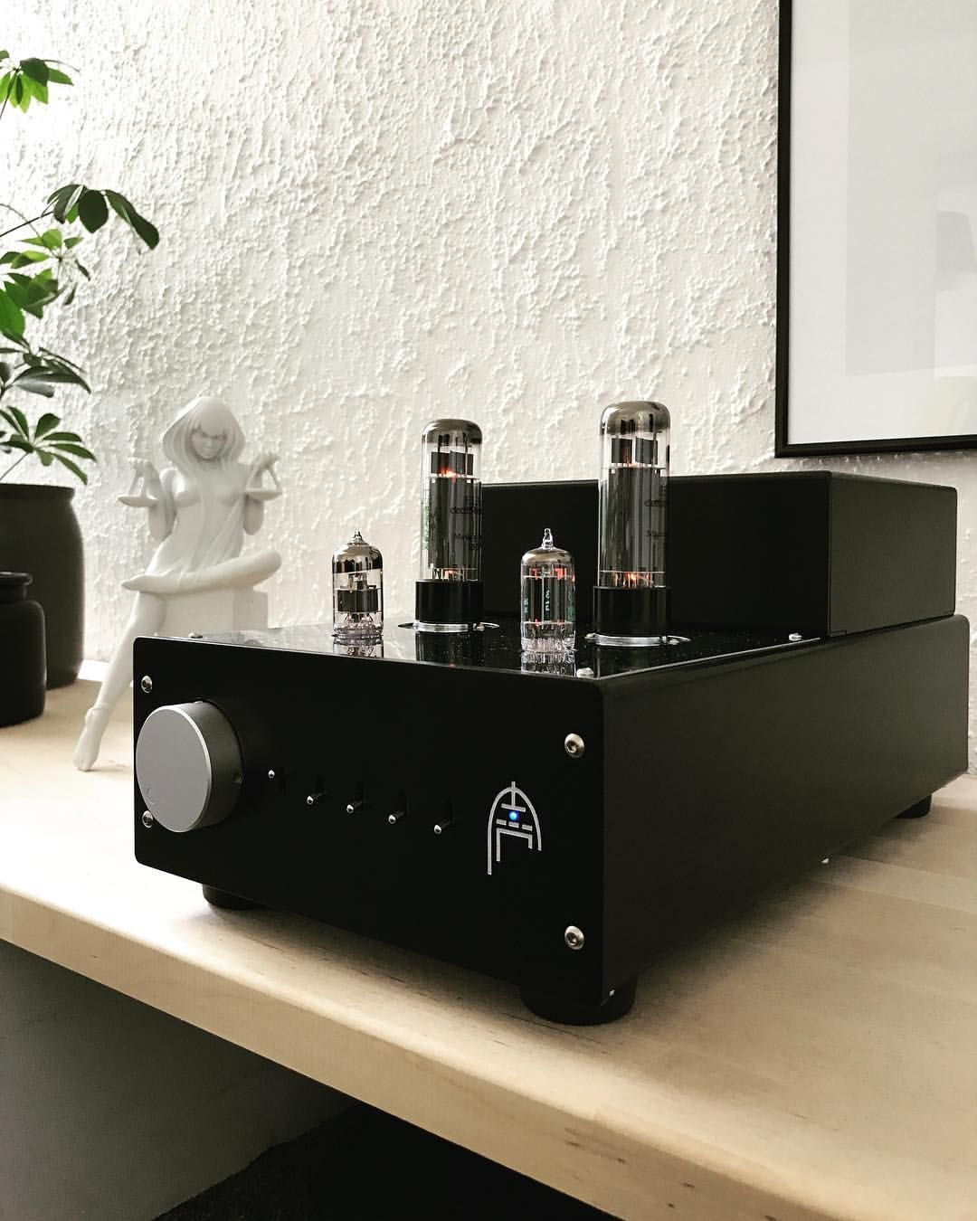 Audion Sterling EL34 tube power amplifier 🔥 Beautiful