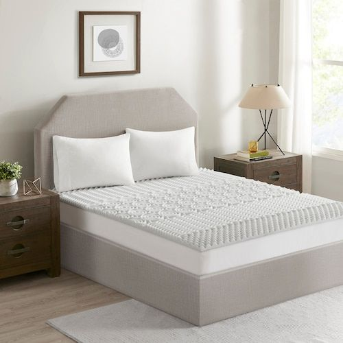 Flexapedic By Sleep Philosophy 1 5 In Memory Foam Mattress Topper Mattress Memory Foam
