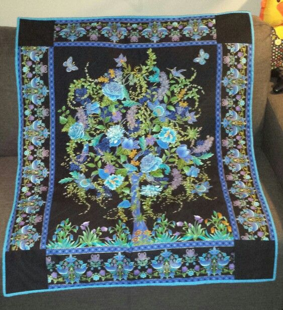 Tree Of Life Quilt I Have This Panel 8 Quilts Tree Of