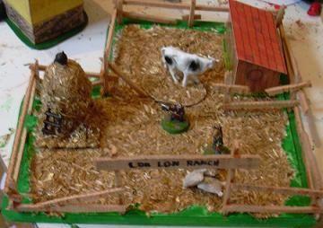 Granja en miniatura casa de mu ecas dollhouse y for Como hacer una granja de peces