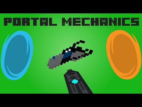 Portal mechanics with only ONE command! (two commands