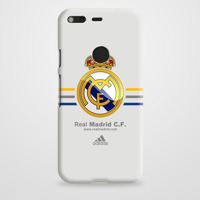 Real Madrid Club De Fútbol La Liga Spanyol Logo Google Pixel Case   casefantasy