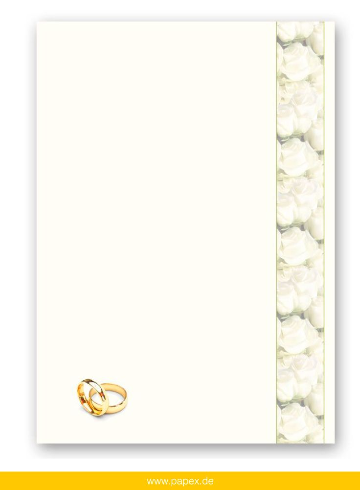 Wedding Stationery Letters and Envelopes by Paper-Media Floral - design paper for writing
