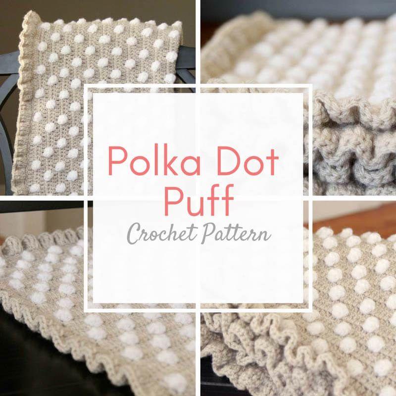 Crochet Baby Blanket Pattern from | Tejido